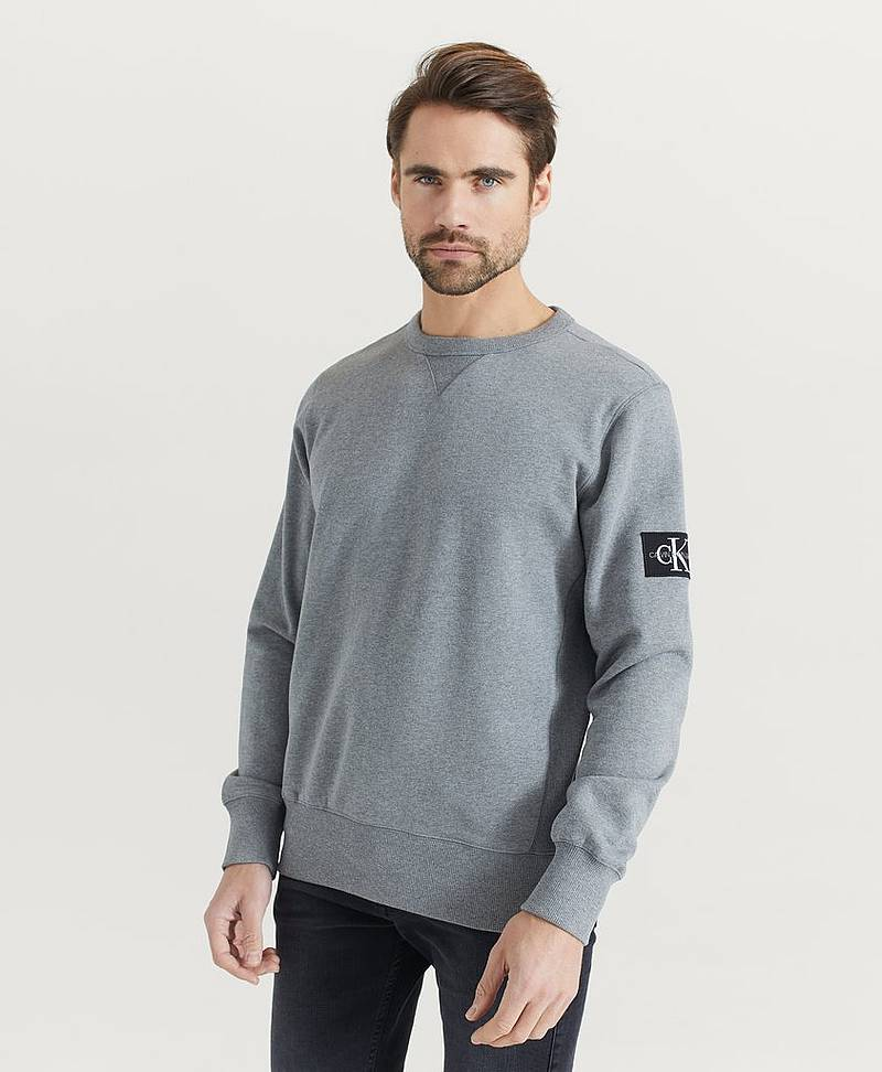 Sweatshirt Monogram Sleeve Badge CN