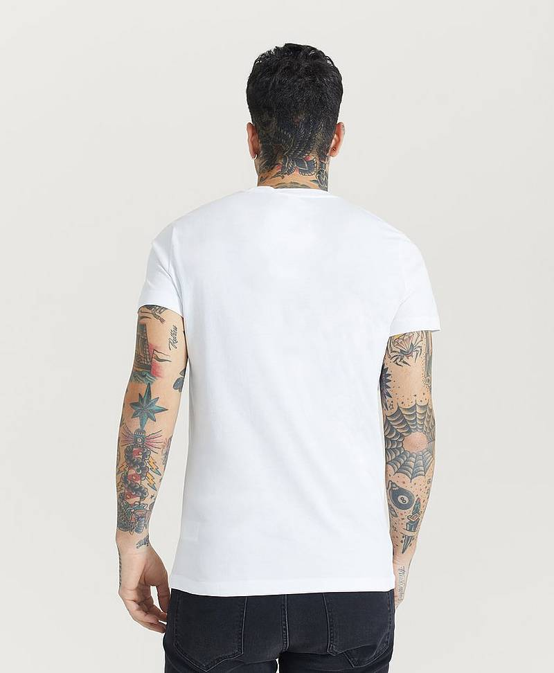 T-shirt Mirrored Monogram Pkt Slim Tee