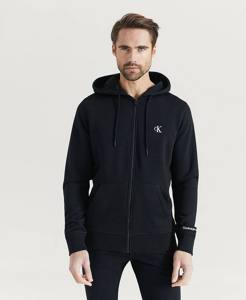 Hoodie CK Essential Reg Zip Through