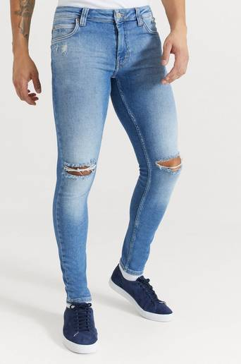 Just Junkies Jeans Max Empty Blue Blå