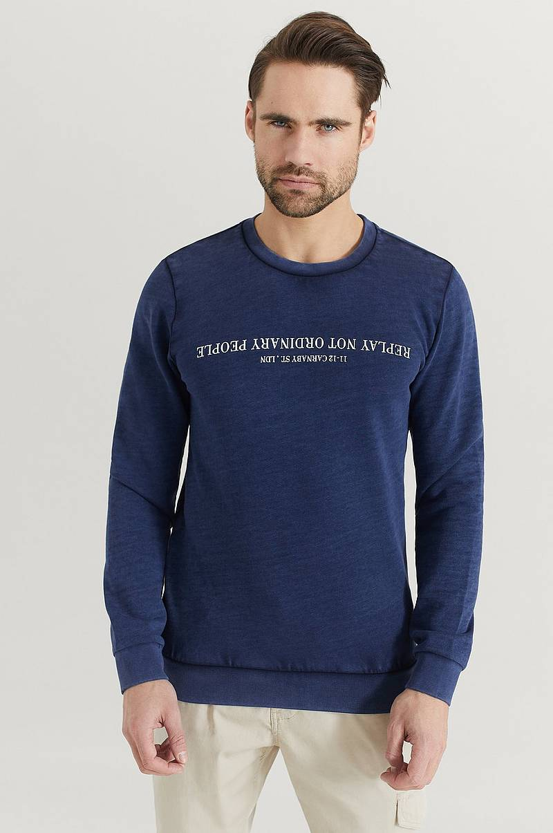 Collegepusero Garment Dyed Sweatshirt