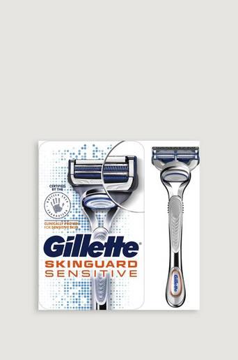 Gillette Rakhyvel Skinguard Sensitive Razor 2up Grå