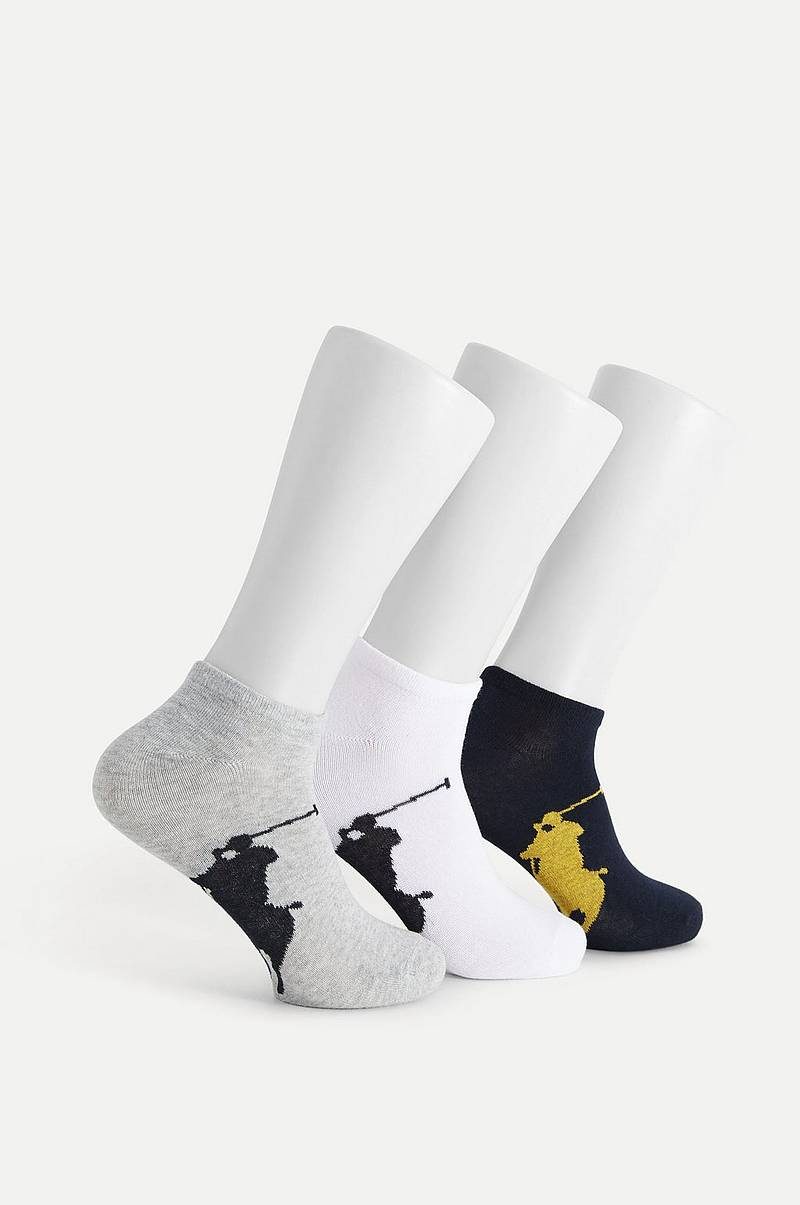 Strumpor 3-pack Big Pony Sock