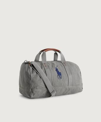 Ralph Lauren Weekendbag Canvas Duffel Bag Grå