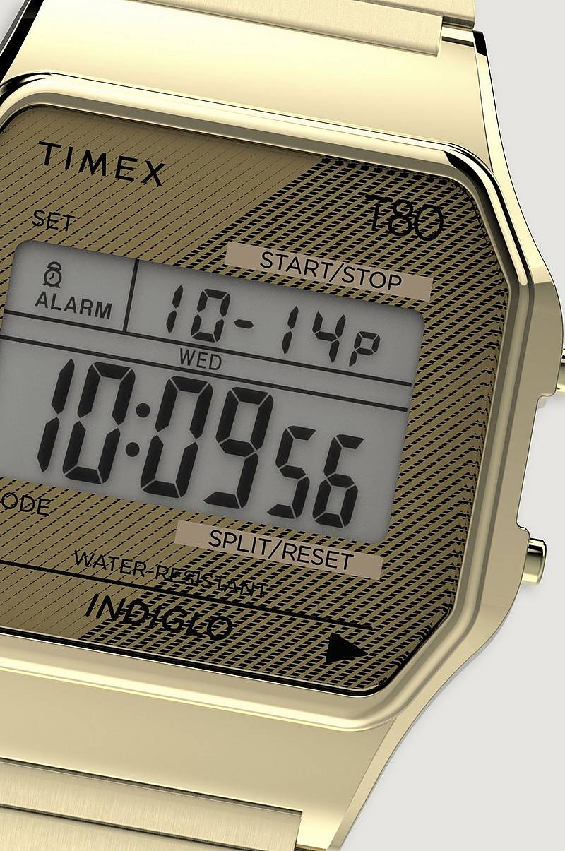 Klokke Timex 80 Goldtone Exp Band