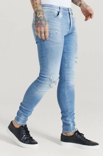 GABBA Jeans Iki K3425 Stain Blå