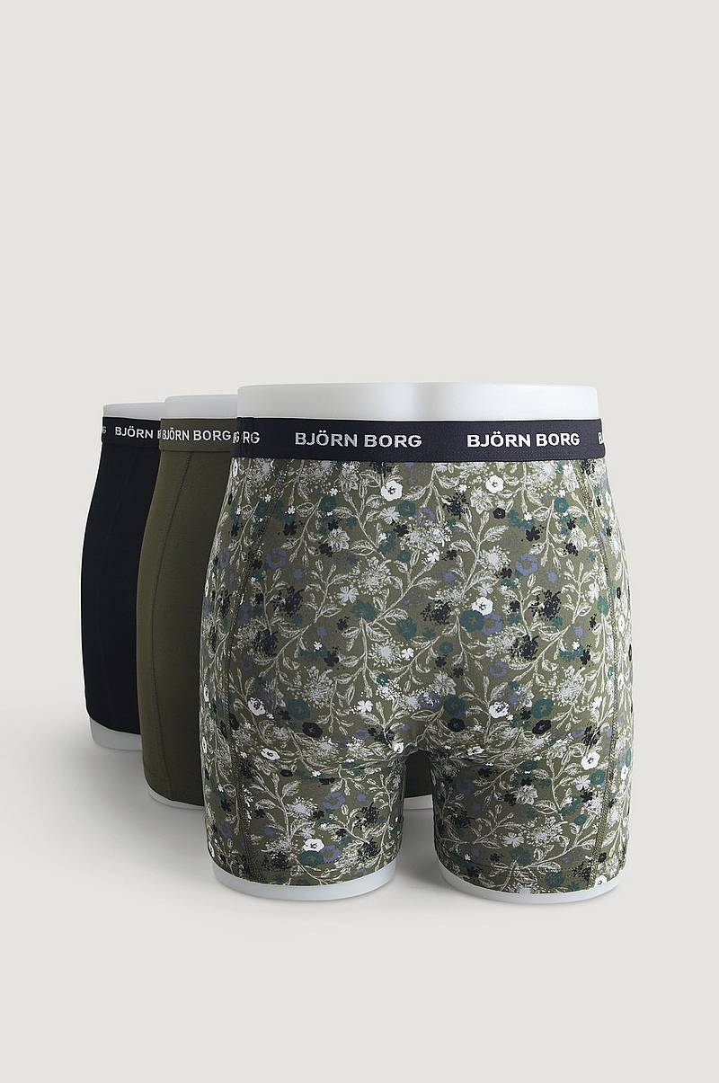 3-Pk Boxershorts Shorts Sammy BB LA Flower