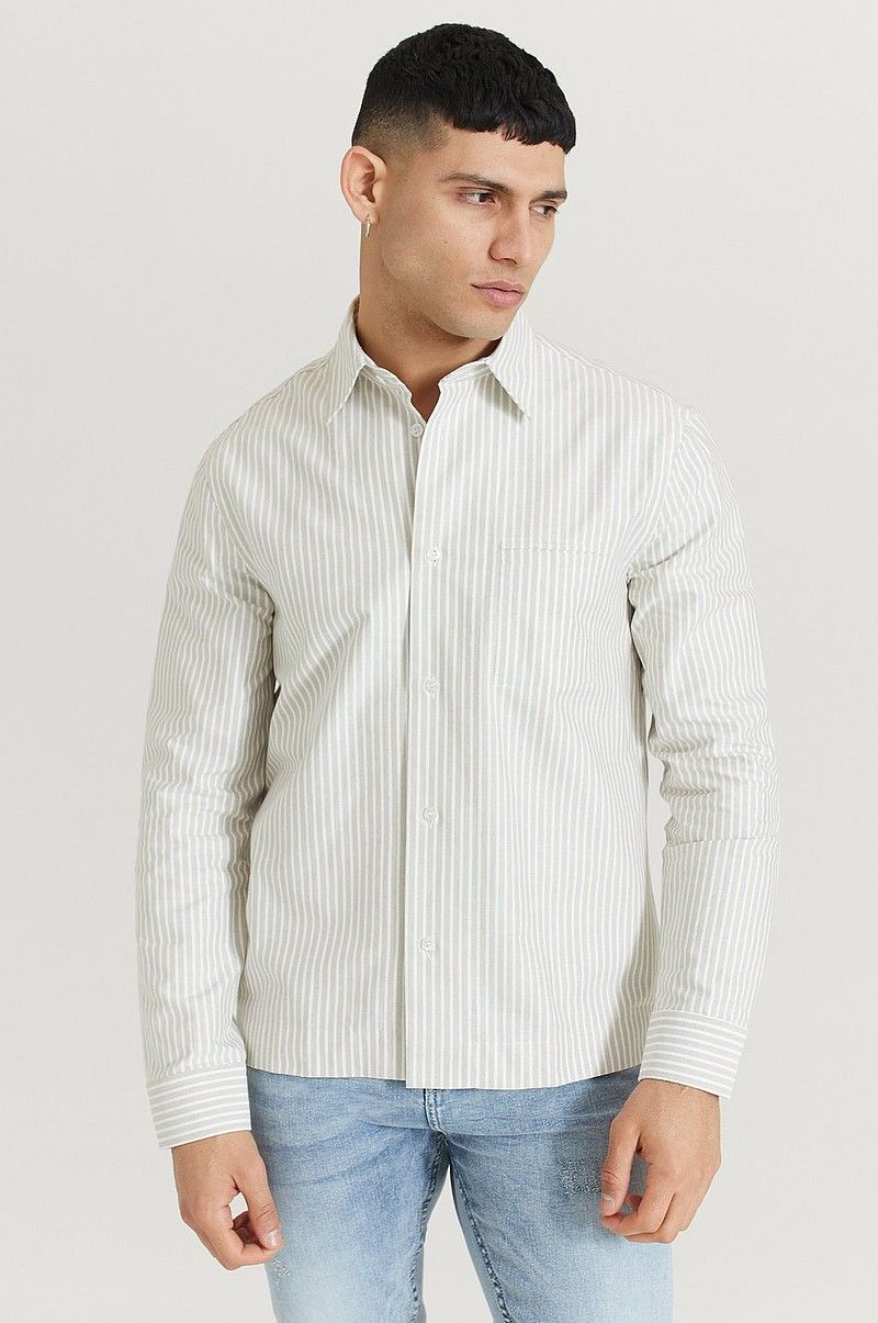 Overshirt M. Zach Striped Overshirt