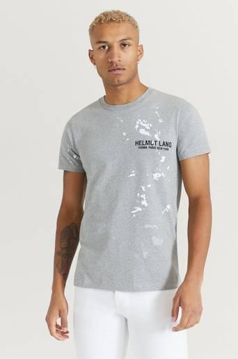 Helmut Lang T-shirt Standard Tee Painter Grå