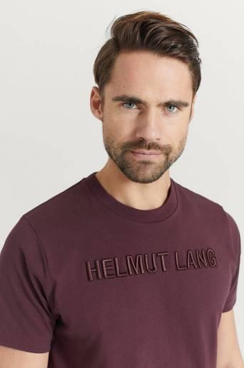 Helmut Lang T-shirt Standard Tee Raise Brun