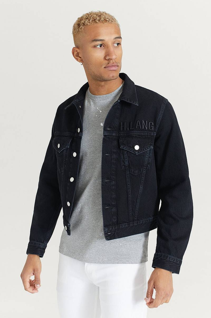 Denimjakke Mens Trucker H.L