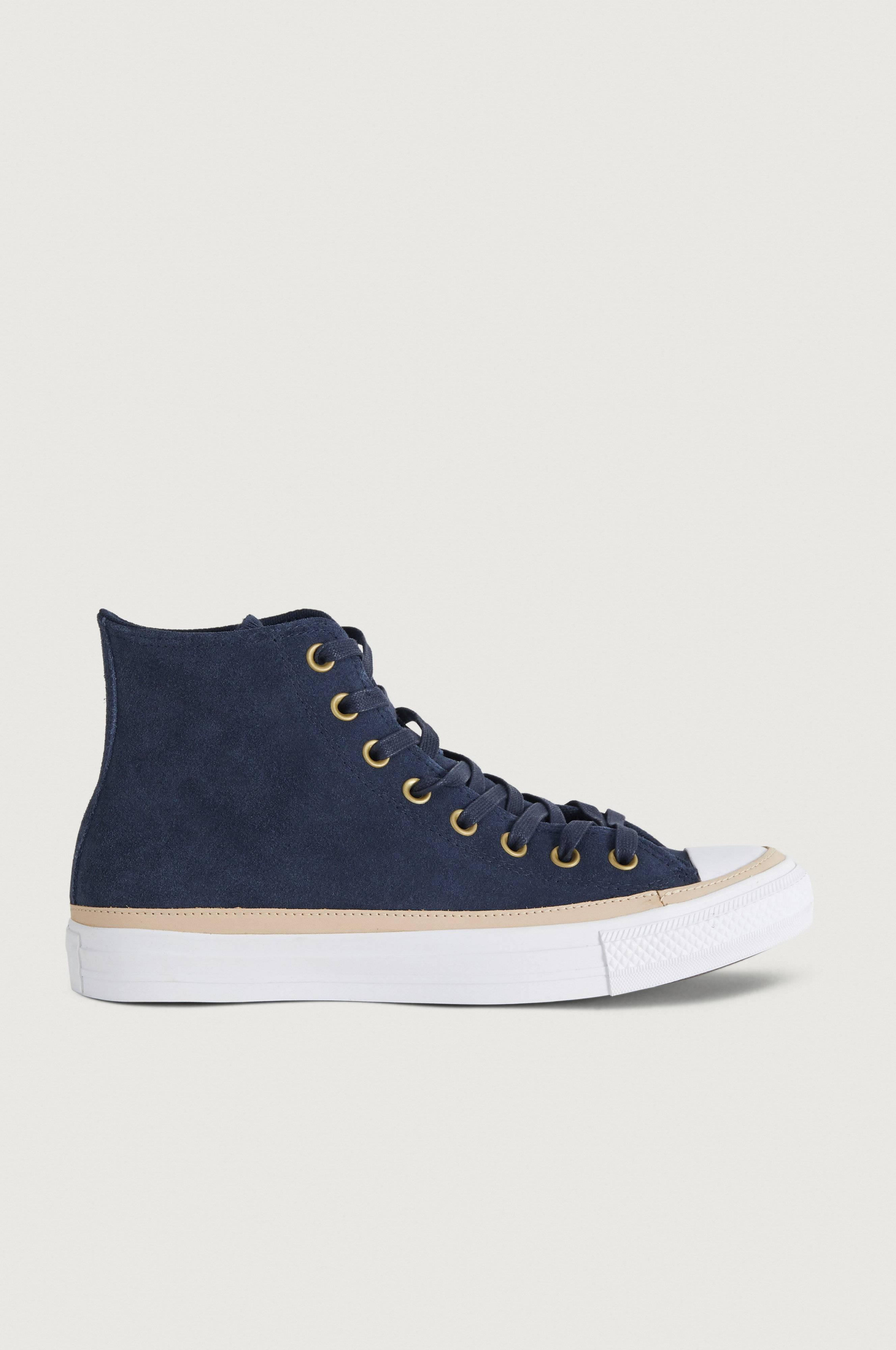 Converse Sneakers Chuck Taylor All Star Hi Vachetta Blå