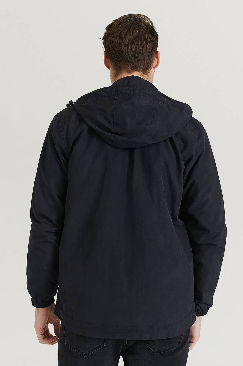 Jacka Zip Through Hooded Jacket