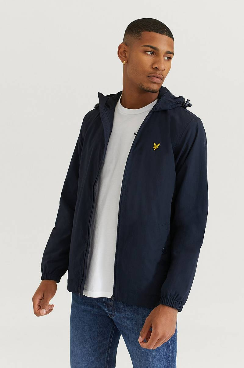 Jakke Zip Through Hooded Jacket
