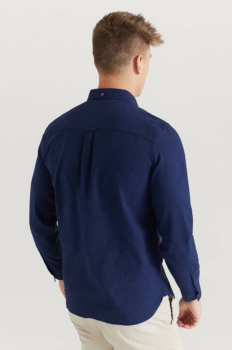 Skjorta Cotton Linen Shirt