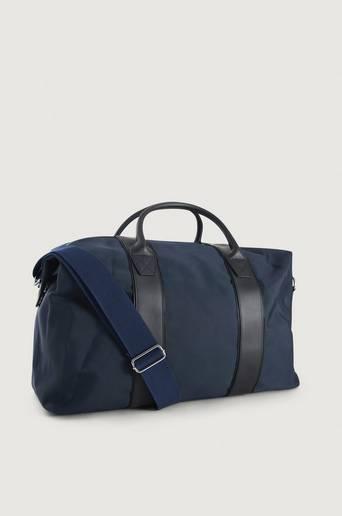 Steele & Borough Weekendbag The Weekender Blå