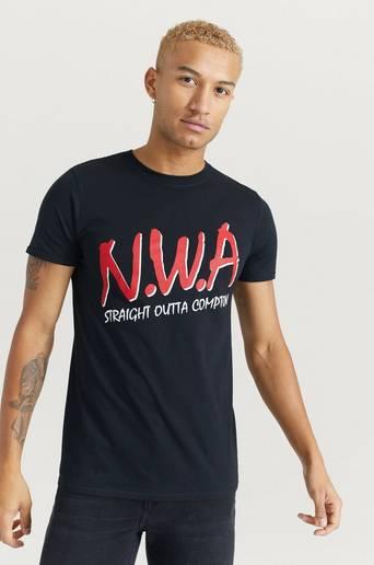 Rock Off T-shirt N.W.A Tee Svart