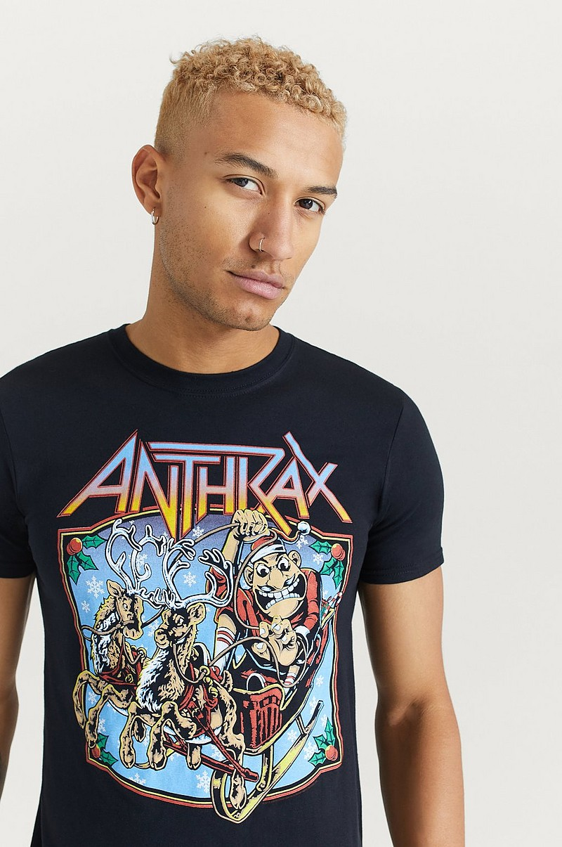 T-shirt Anthrax Tee