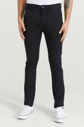 Nudie Jeans Byxor Slim Adam Svart