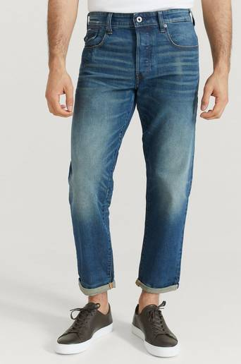G-Star Jeans Morry 3D Relaxed Tapered Blå