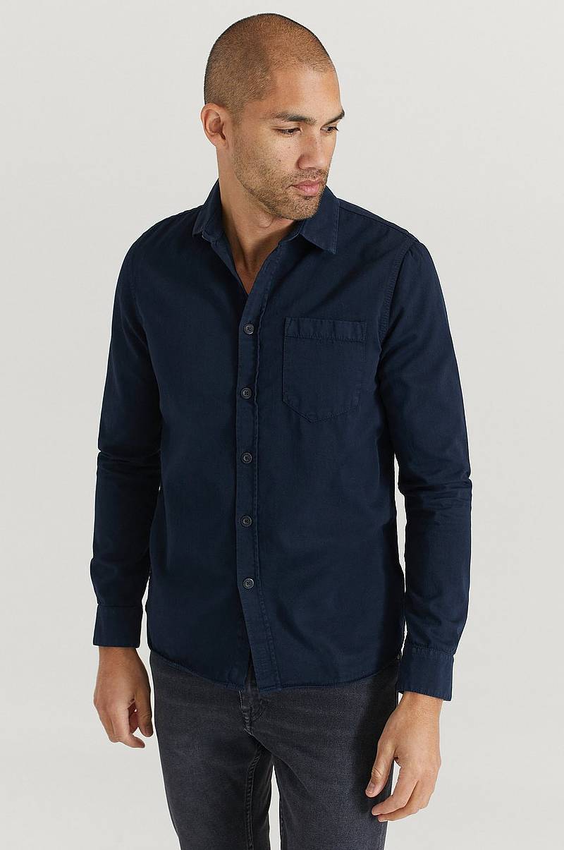 Overshirt Henry Pigment Dyed