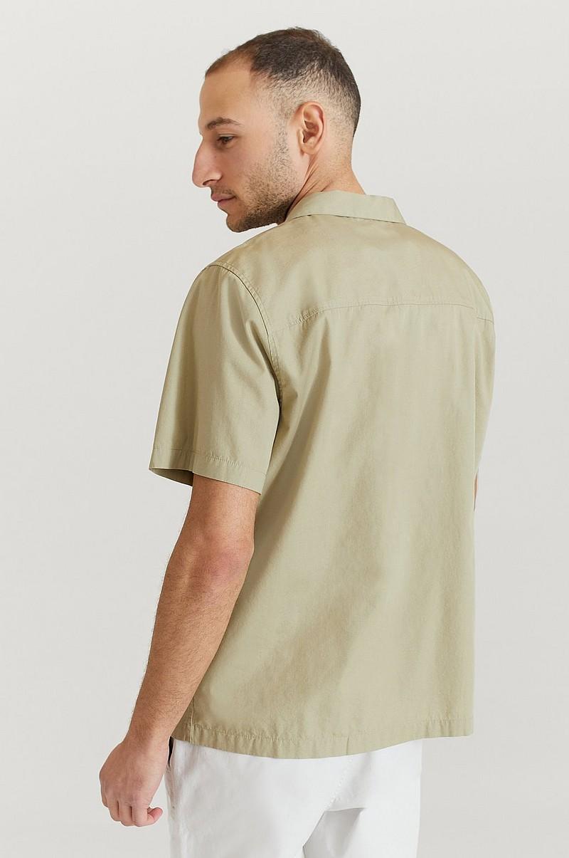 kortermet skjorte khaki