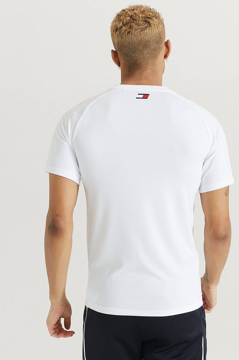 T-shirt Training Top Mesh Logo