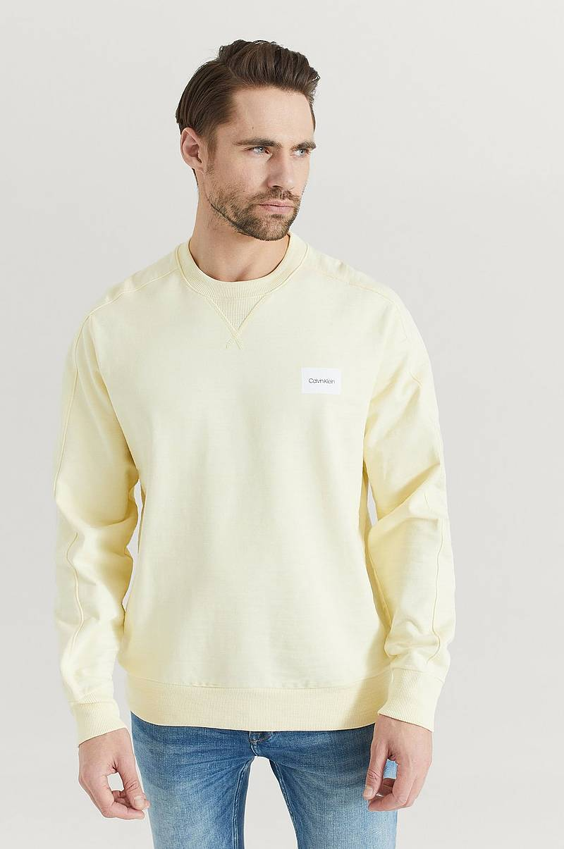 Sweatshirt Mouline Chest Logo Sweatshirt