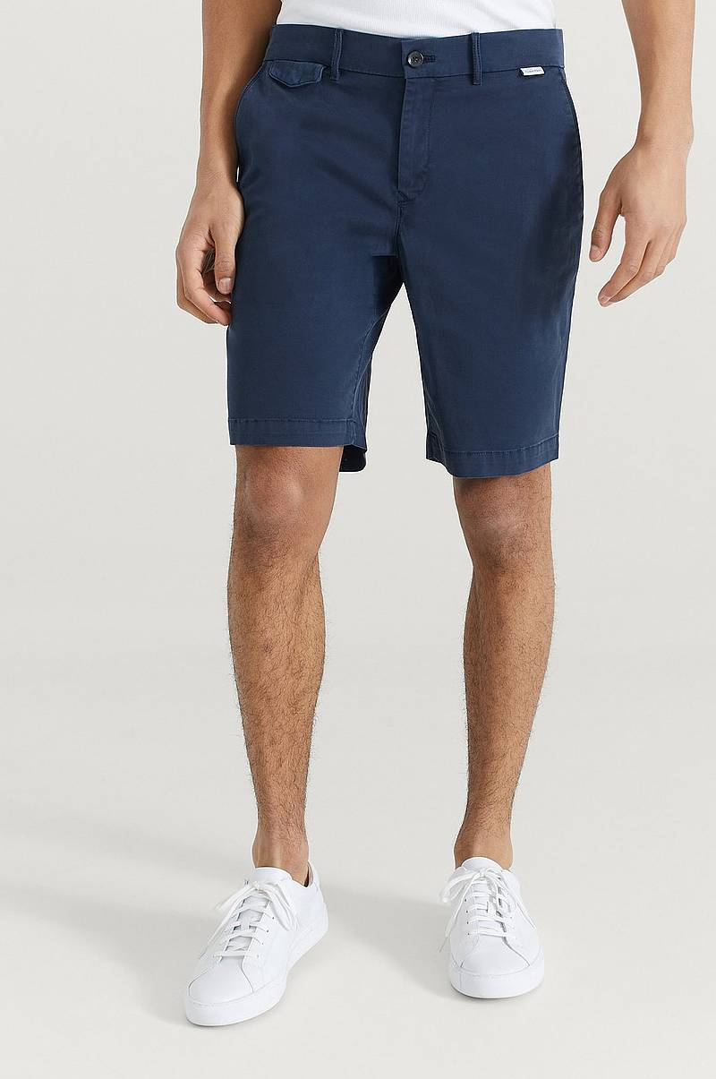Shorts Slim Fit Garment Dyed Shorts