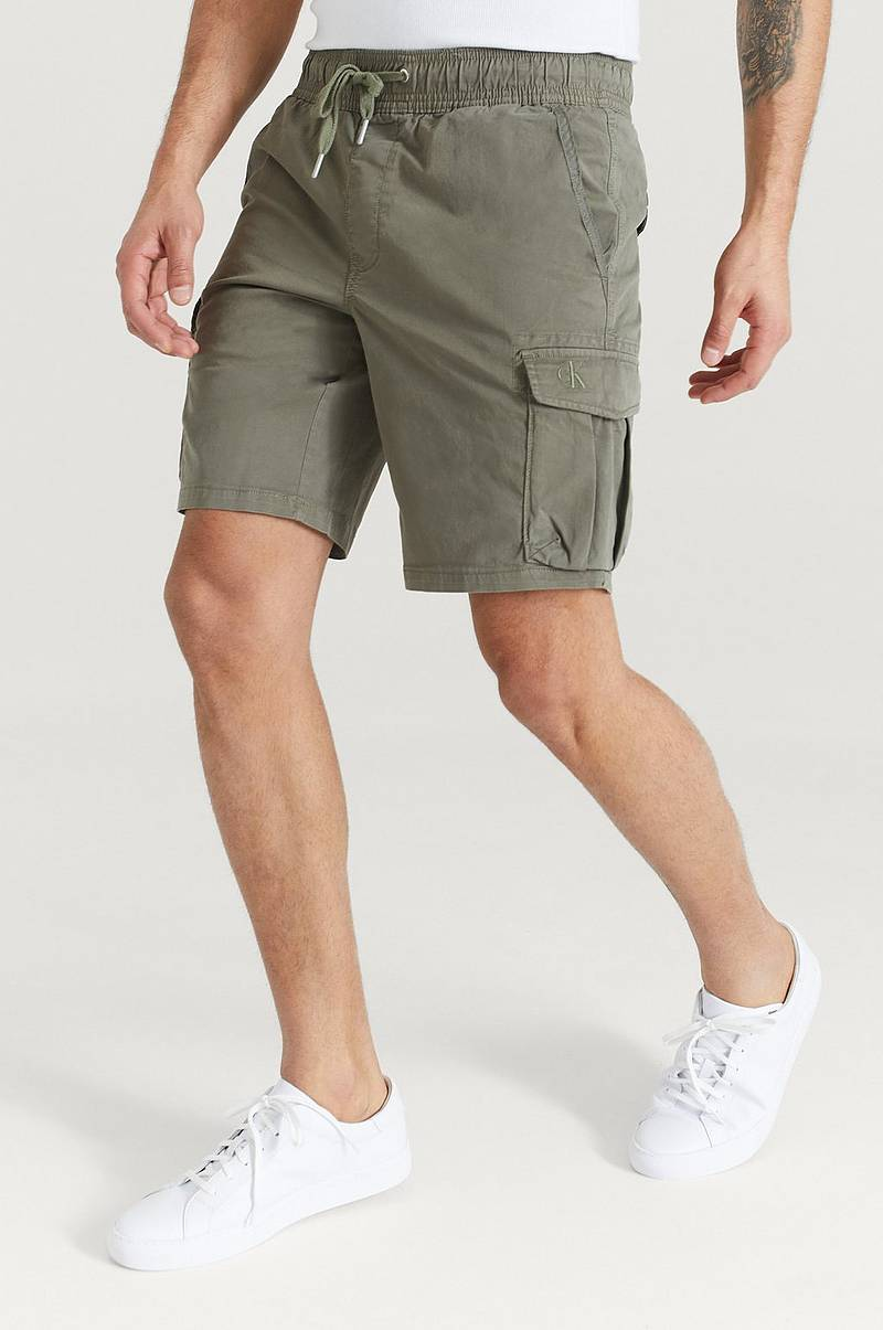 Shorts Simple Washed Cargo Short