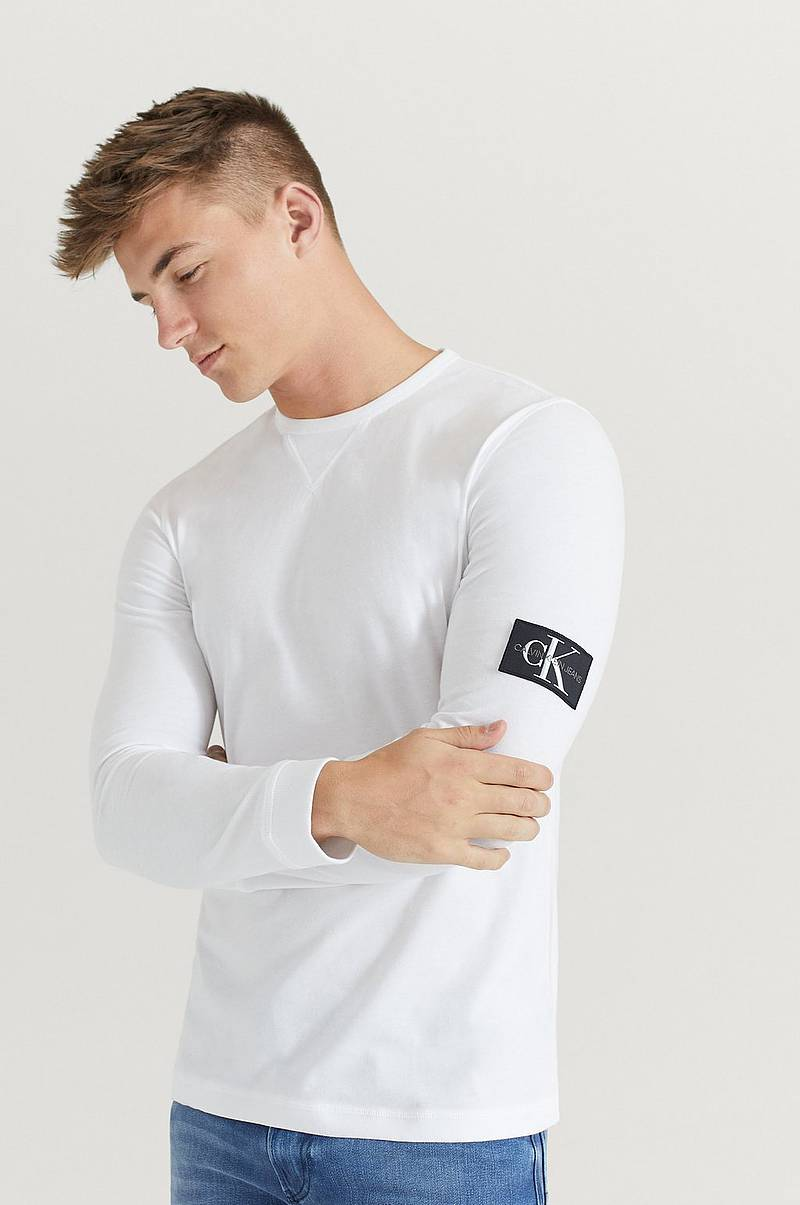 Långärmad T-Shirt MGRM Badge Sleeve LS Ribbed Cuff