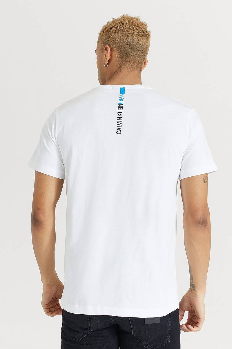 T-shirt Stripe Institutional Logo Tee