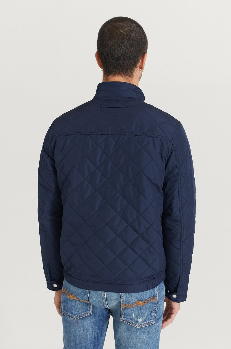 Jakke The Quilted Windcheater