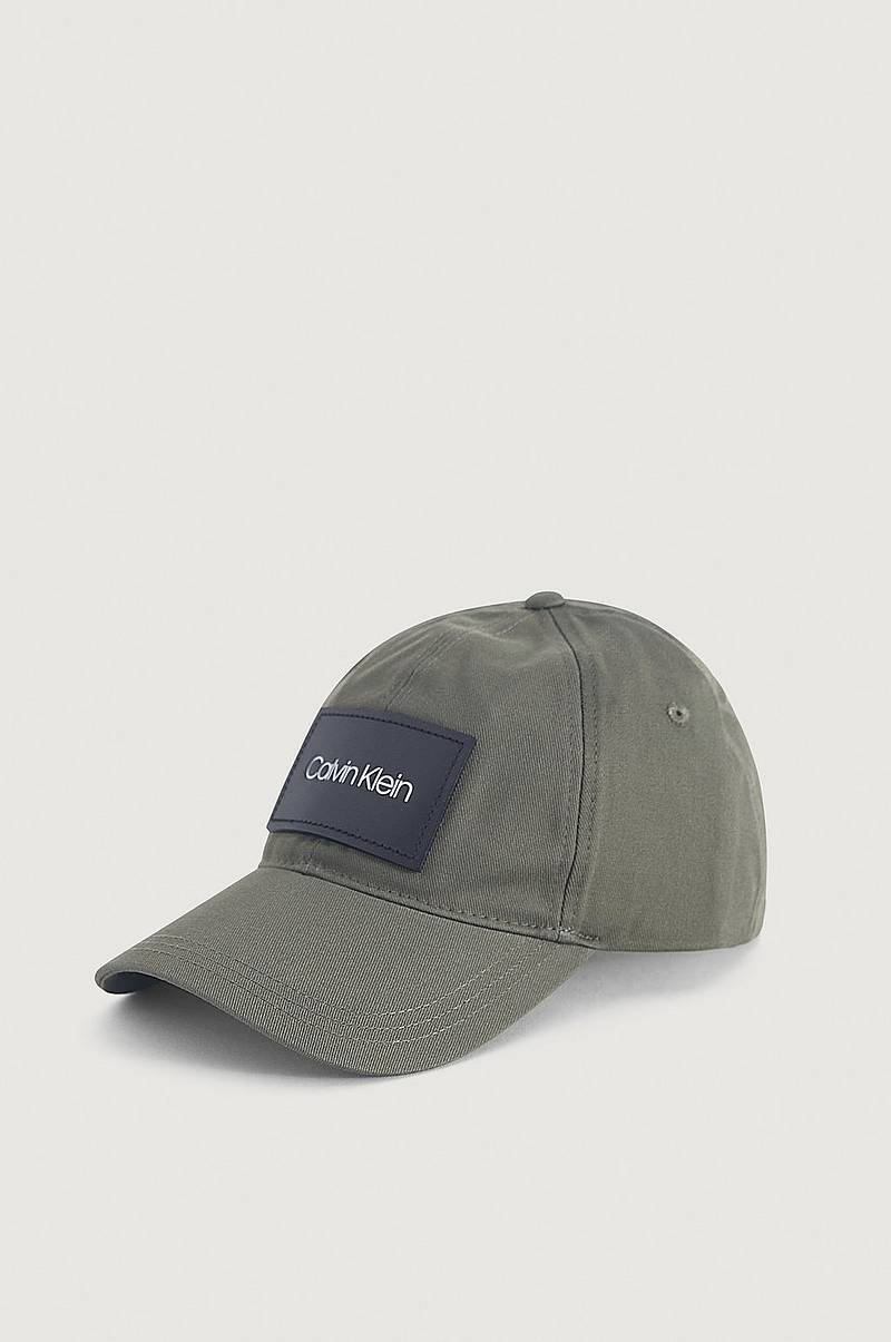 Keps Leather Patch BB Cap
