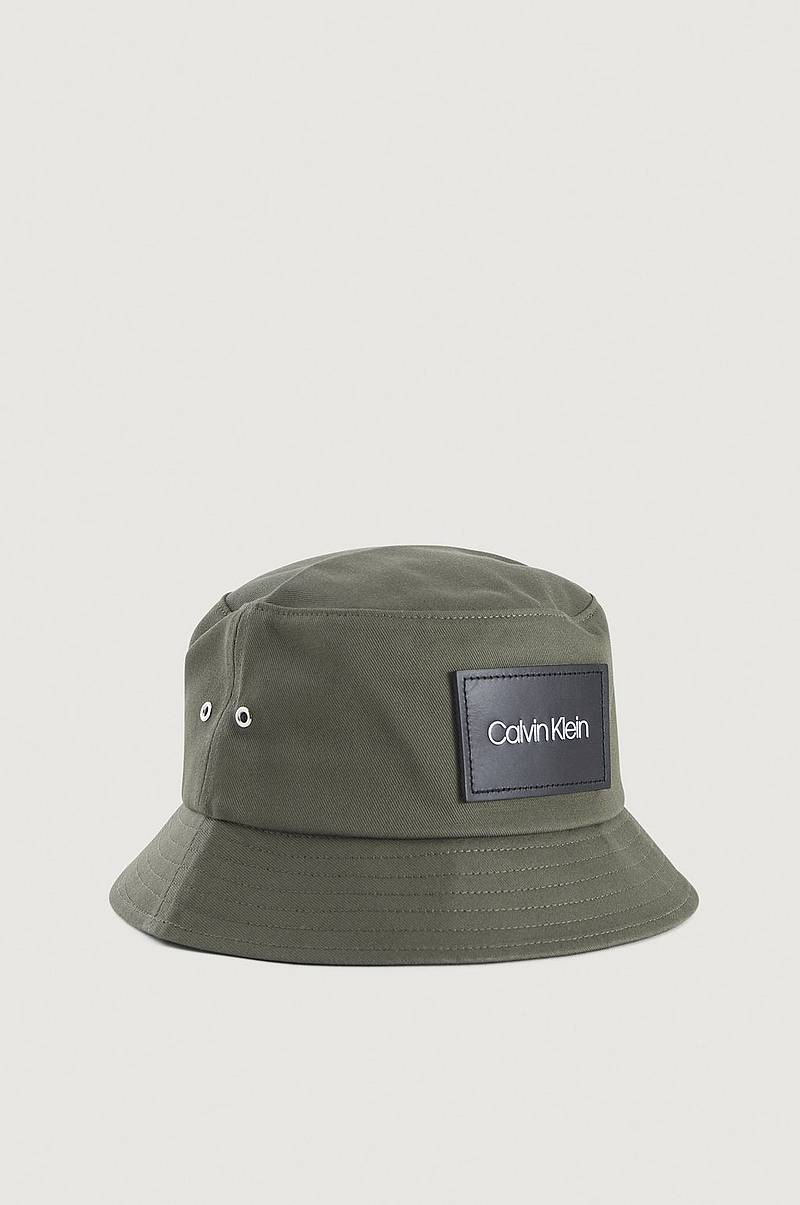 Hat Leather Patch Bucket