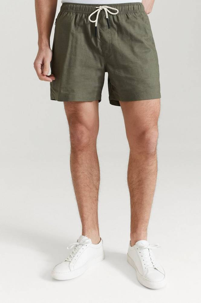 Shortsit Beige Linen Shorts