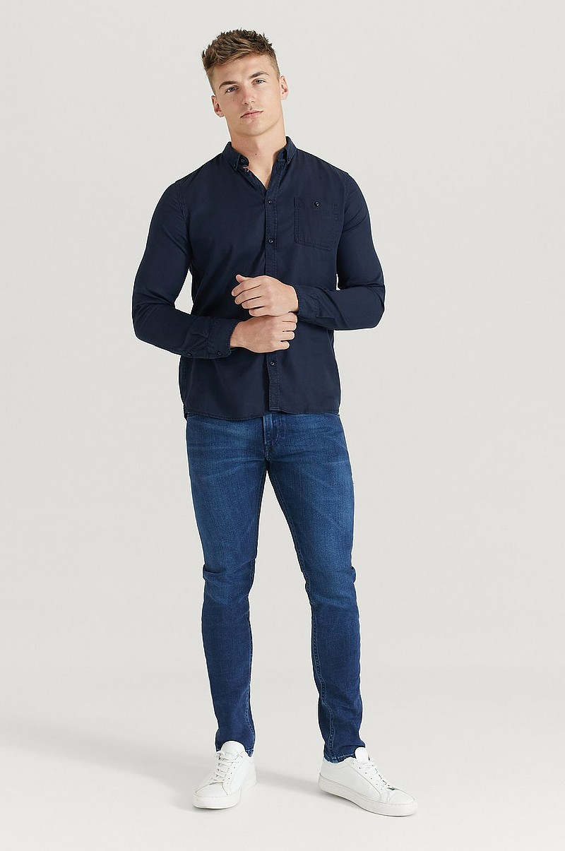 Skjorte Laurent Tencel Shirt