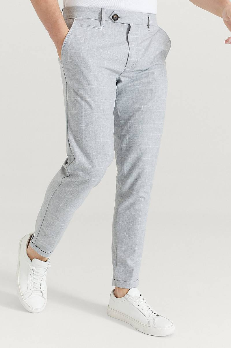 Bukse Como Check Suit Pants