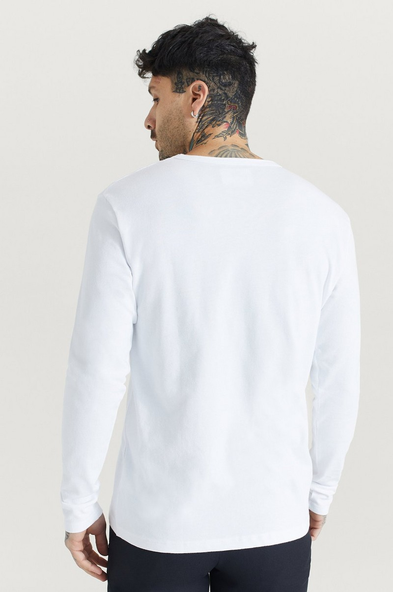 Langermet T-shirt Mel Long Sleeve