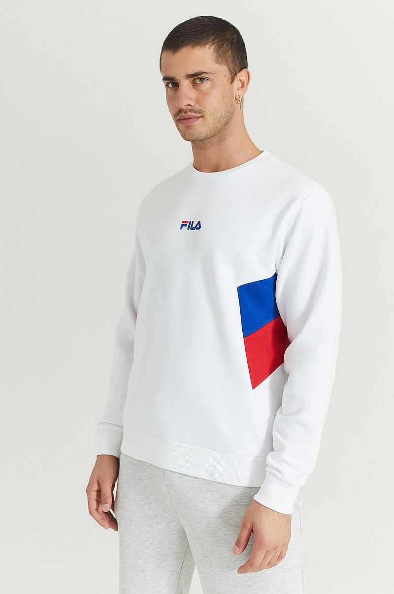 FILA Sweatshirt Baker Crew Sweat Multi Kläder Stayhard.se