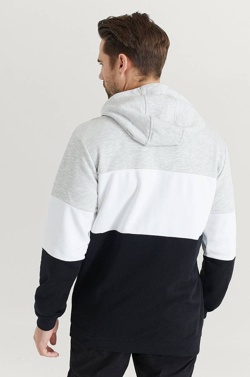 Hoodie Men Night Blocked Hoody