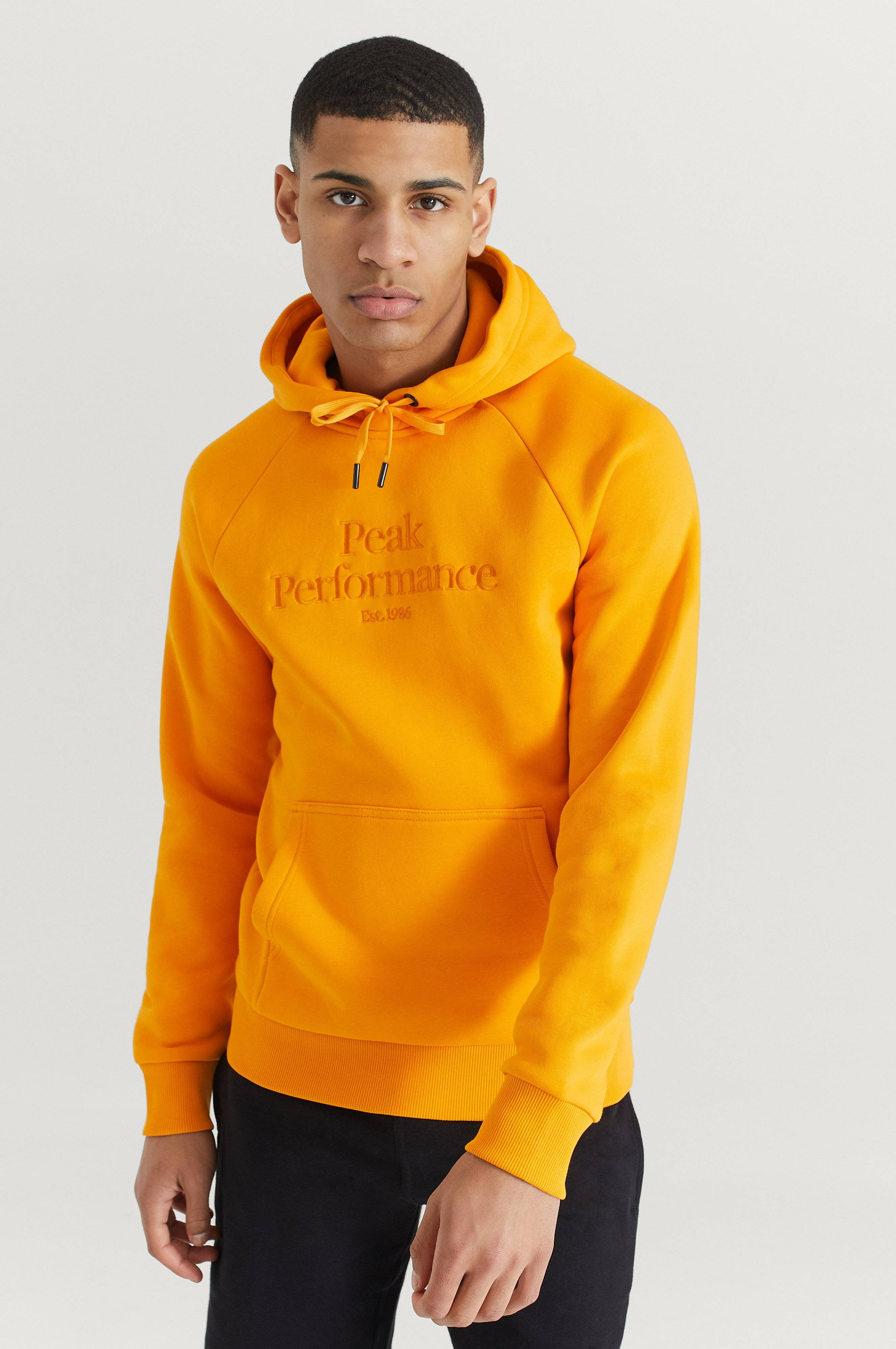 Peak Performance Hoodie Original Hood Orange