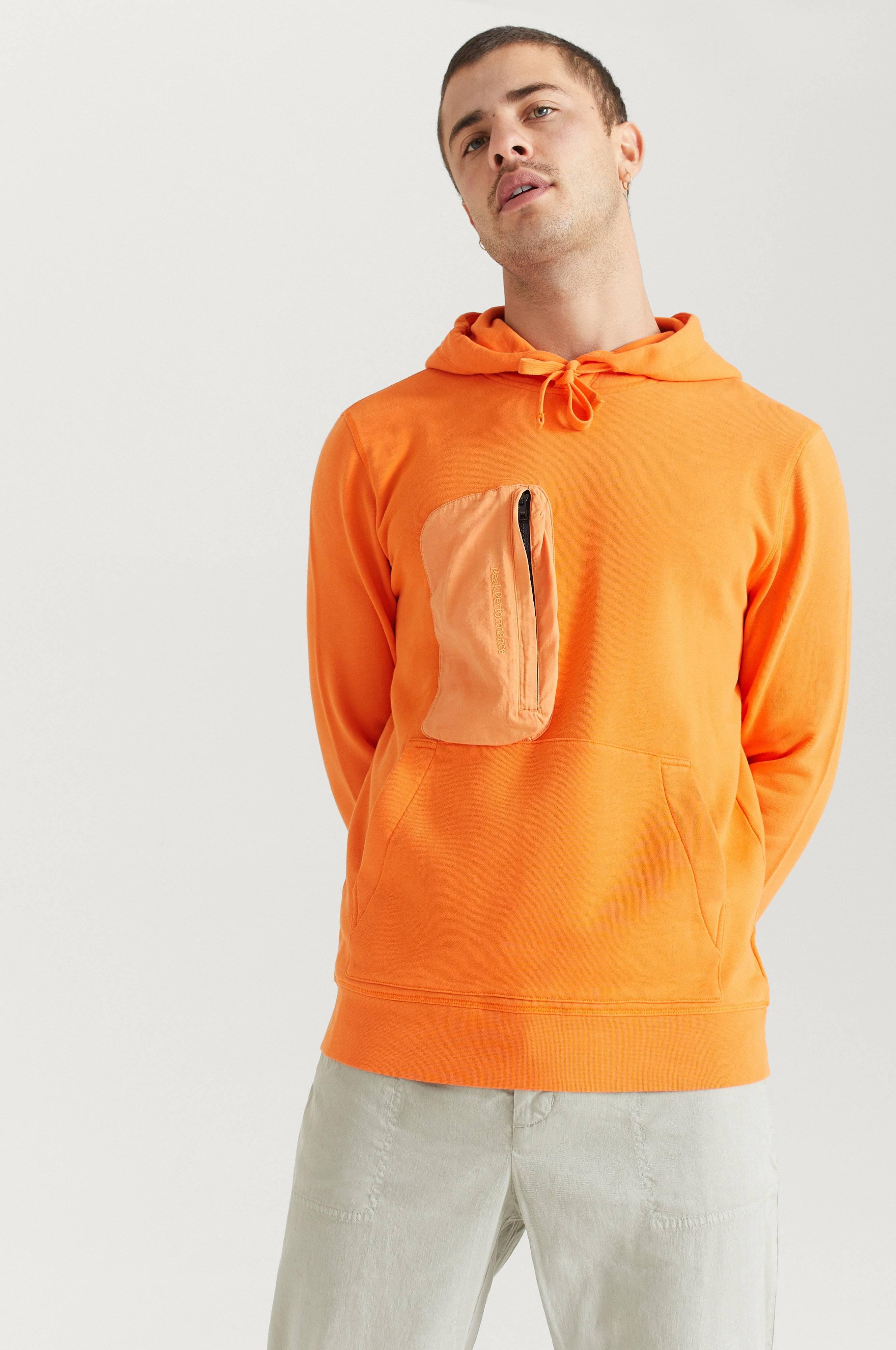 Peak Performance Hoodie Comb Hood Orange