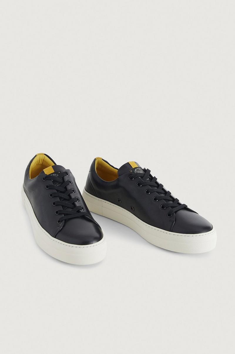 Sneakers Level Leather Shoe