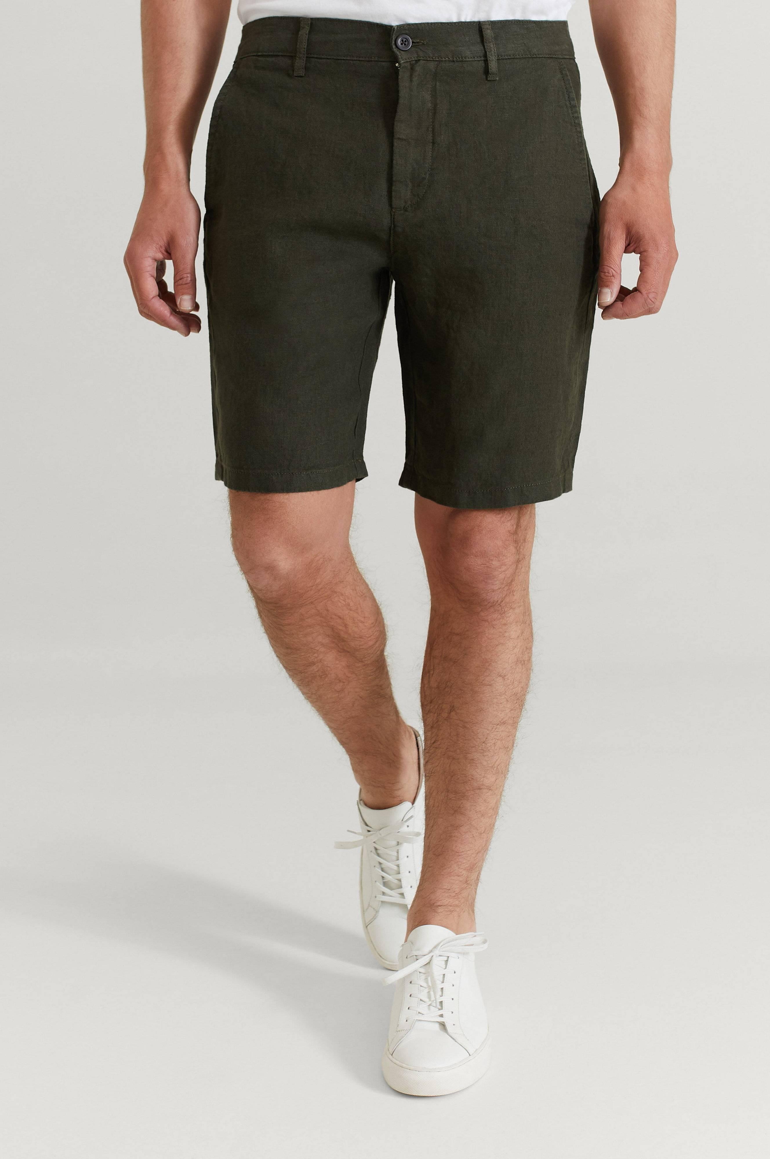 NN07 Shorts Crown Shorts 1196 Army
