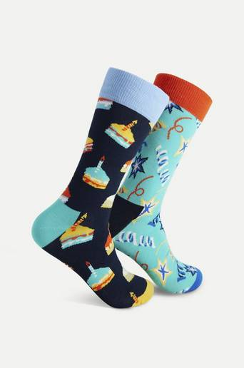 Happy Socks 4-Pack Strumpor Disney Gift Set Multi
