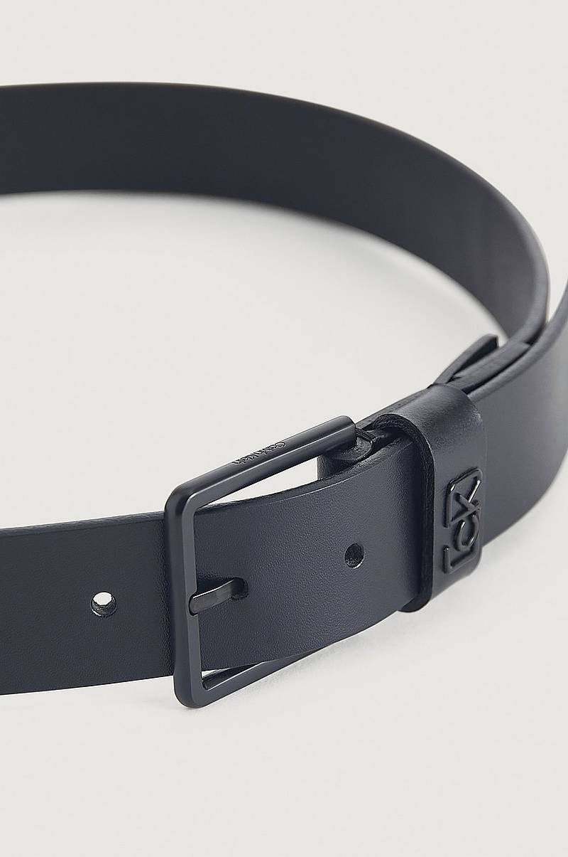 Belte 35 mm ADJ CK Signature Loop Belt