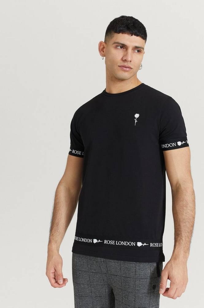 T-paita Rose Tape T-Shirt