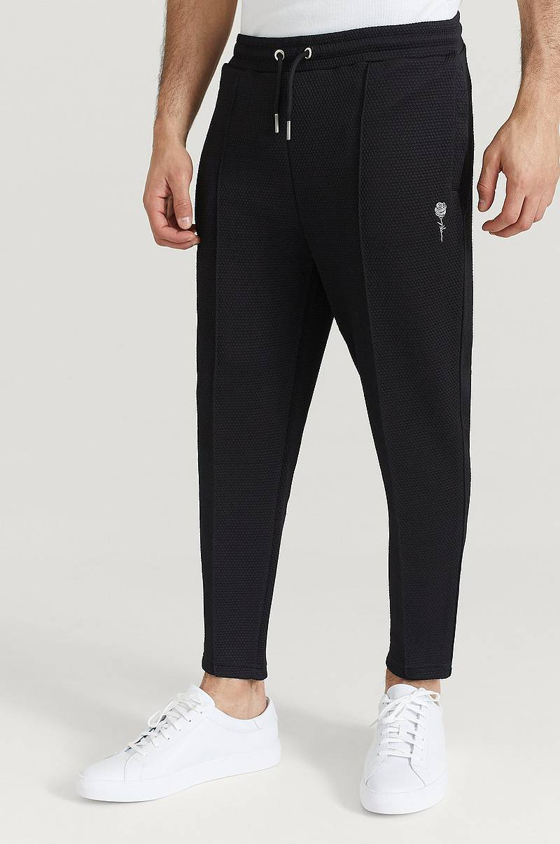 Collegehousut Waffle Slim Fit Jogger