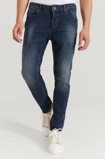 GABBA Jeans Rey K3606 Mid Blue Jeans Blå